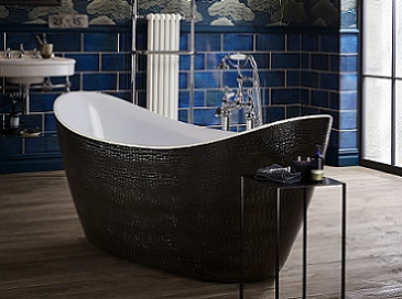 Alderley Leather Effect Acrylic Bath