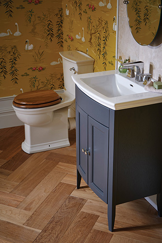 Caversham Vanity Unit in Graphite with Blenheim Basin