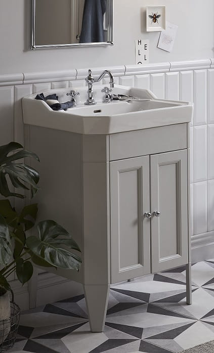 Caversham Dove Grey Vanity Unit with Granley Basin