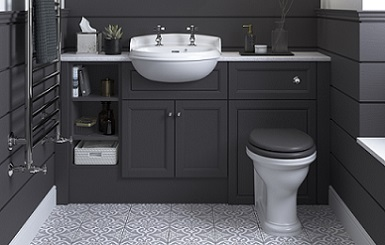 Caversham Graphite Fitted Furniture with Dorchester