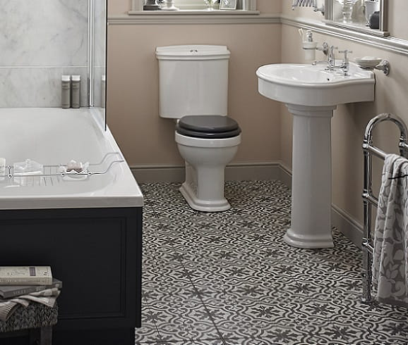 Claverton, Heritage Bathrooms, Bathrooms Suite, Classic Suite