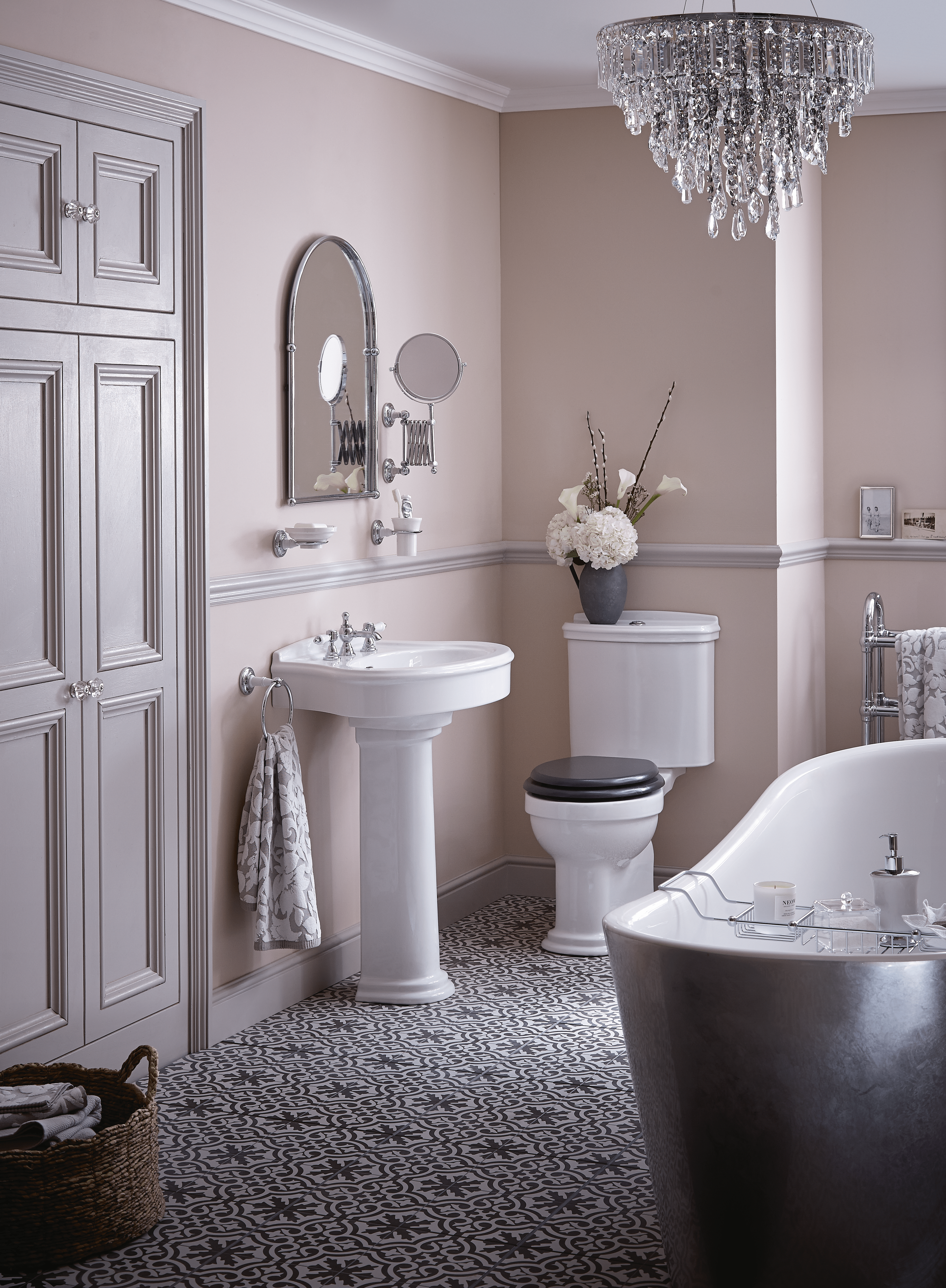 Create a country chic bathroom heritage bathrooms for Heritage bathrooms