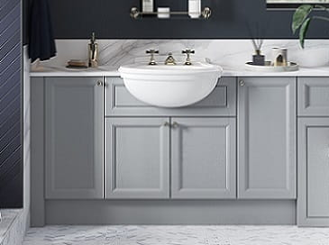 Dove Grey fitted furniture