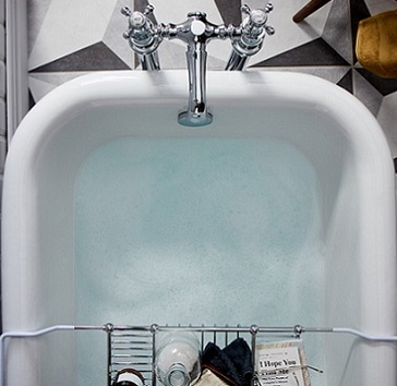 Essex Cast Iron Bath from above