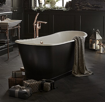 Madeira cast iron bath