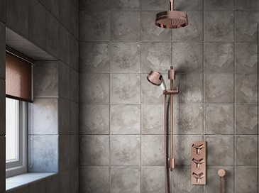 Hemsby rose gold shower