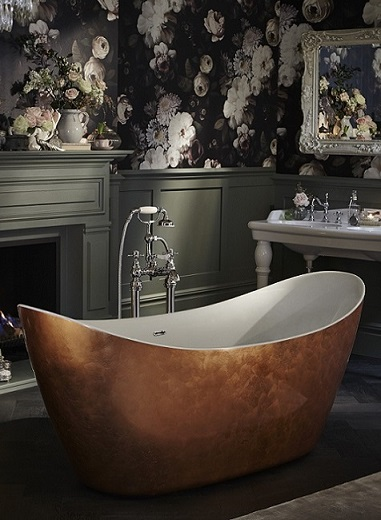 Hylton Metallic Effect Acrylic Bath