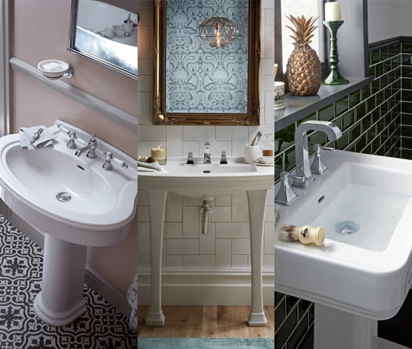 Browse our range of luxury bathroom suites Heritage Bathrooms