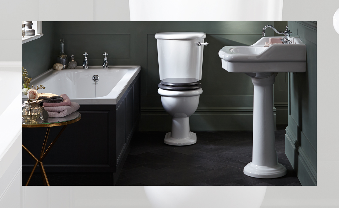 Victoria collection bathroom suite by Heritage