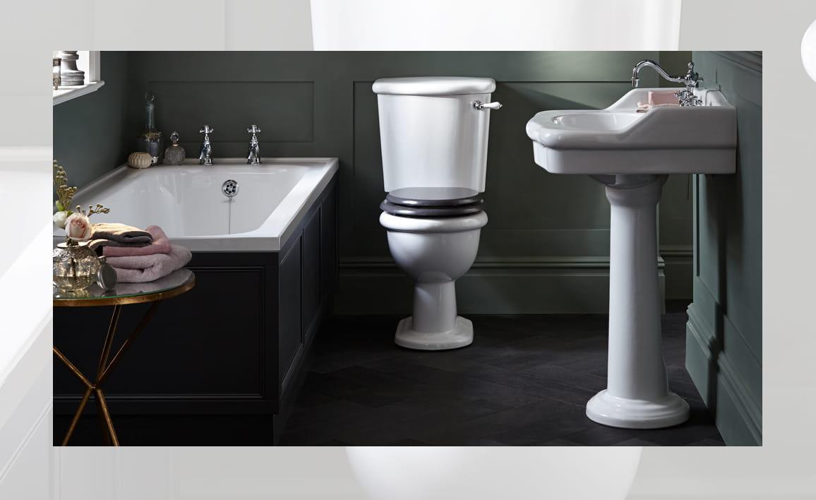 Tecaz bathroom suites - Victoria Collection Bathroom Suite By Heritage