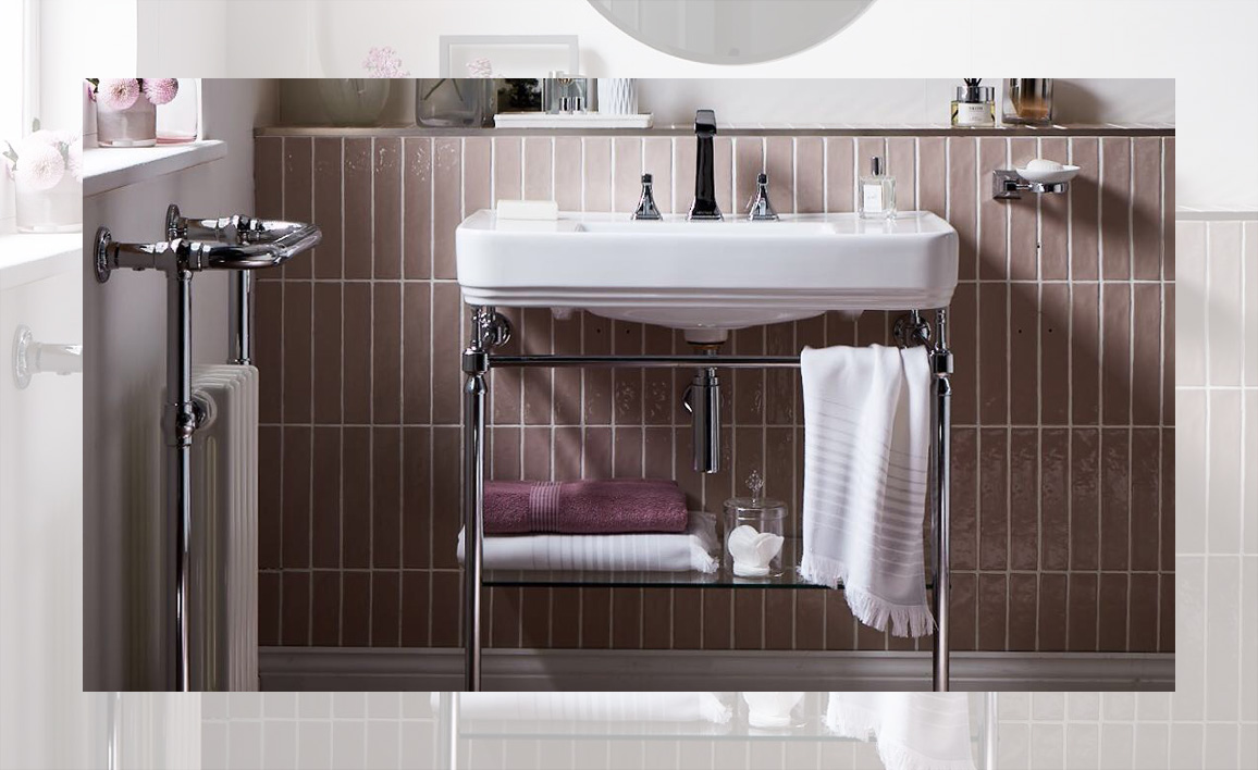 Wynwood collection lifestyle by Heritage Bathrooms
