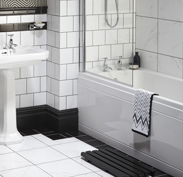 Granley deco bathroom collection heritage - Deco toilet grijs ...