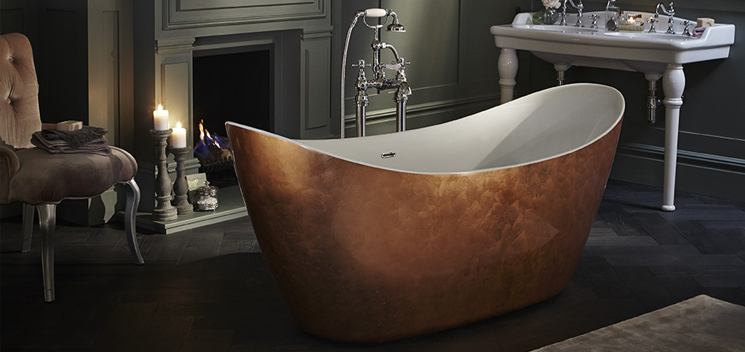 Victoria statement bath from Heritage