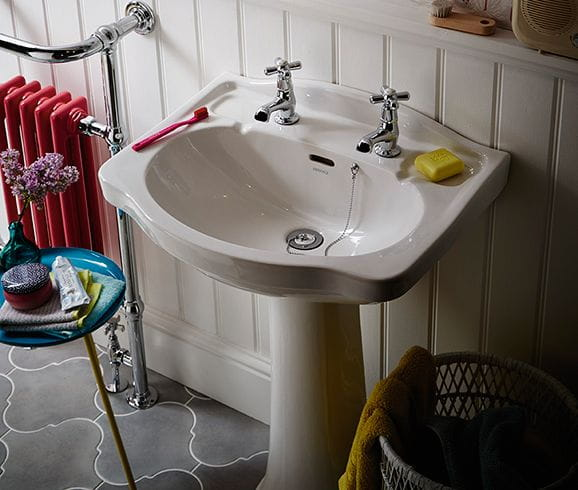 Rhyland basin from Heritage Bathrooms