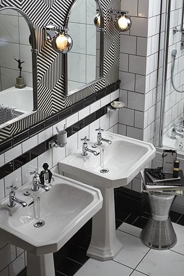 Granley Deco Twin Basins | Heritage Bathrooms