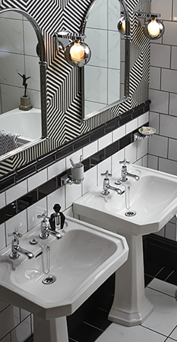 Granley Deco Twin Basins