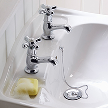 Ryde taps from Heritage Bathrooms