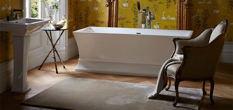 bath from the Blenheim collection from Heritage