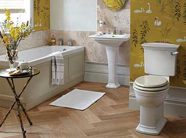Blenheim Bathroom Suite | Heritage Bathrooms