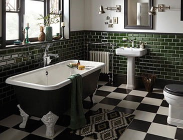 Distinctively Individual Bathrooms From Heritage