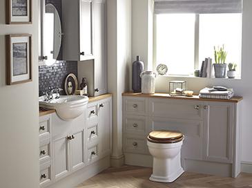 Fitted bathroom furniture caversham heritage for Heritage bathrooms