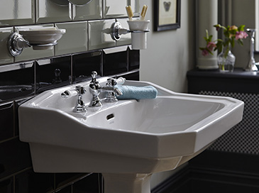 Clifton collection from Heritage bathrooms