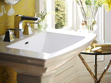 Hemsby Collection basin by Heritage Bathrooms