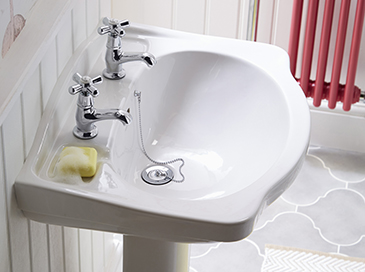 Ryde collection basin from Heritage Bathrooms