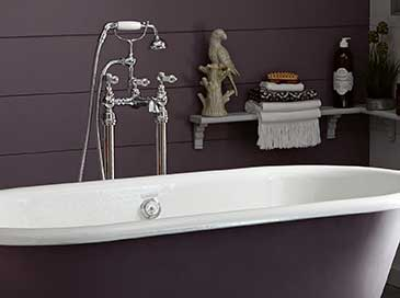 Bath standpipes from Heritage Bathrooms