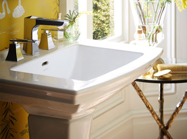 Blenheim basin from Heritage Bathrooms