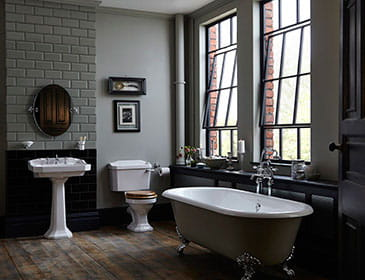 Distinctively individual bathrooms from heritage for Heritage bathrooms