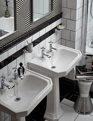 Art Deco Taps | Heritage Bathrooms