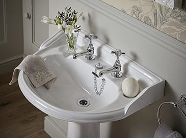 Dawlish taps from Heritage Bathrooms