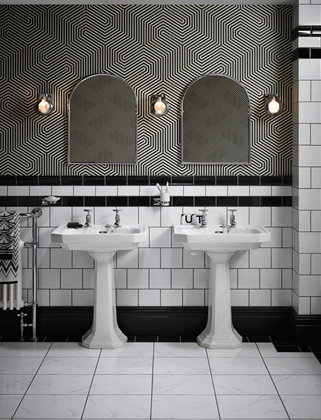 Be On Trend With Art Deco Styling Heritage Bathrooms