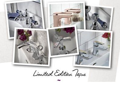 Limited Edition taps and showers
