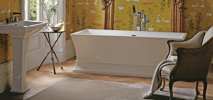 Penrose Acrylic Bath with Blenheim Basin