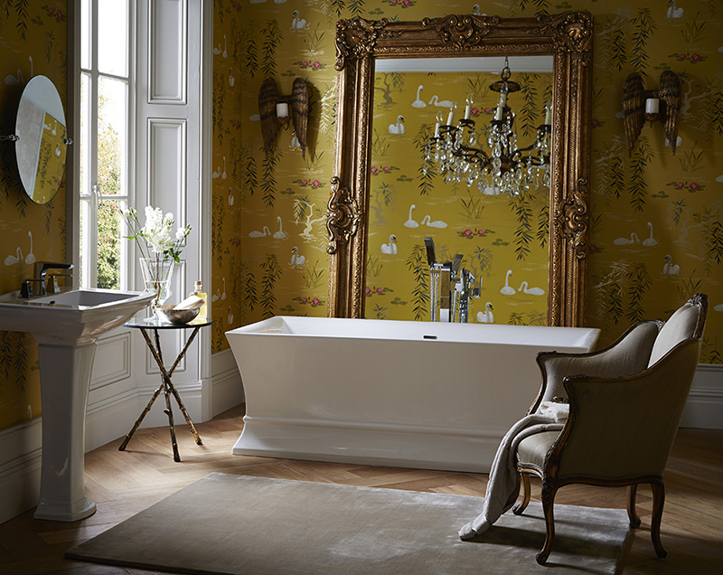 Penrose bath from Heritage Bathrooms