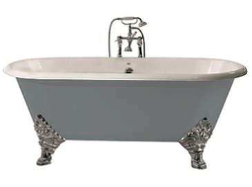 Grand Buckingham Cast Iron Bath With Tapholes