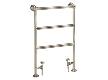 Portland Heated Towel Rail Vintage Gold