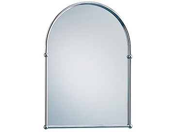 Arched Mirror Chrome