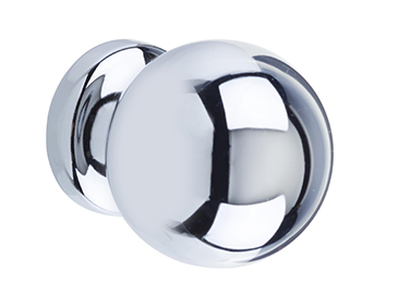 Heritage Cupboard Knob Chrome