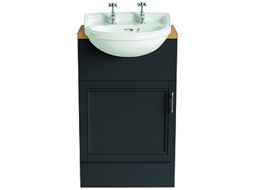 Dorchester Cloakroom Semi-Recessed Basin 1 taphole
