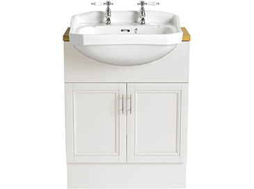 Granley Semi-Recessed Medium Basin 1 taphole