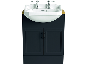 Granley Semi-Recessed Medium Basin 2 taphole