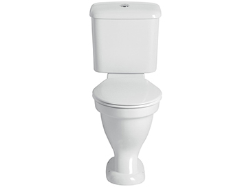 Belmonte Close Coupled Comfort Height WC Pan