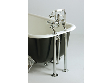 Heritage Bath Trap Chrome for Cast Iron Bath