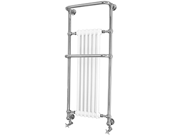 Cabot Wall Hung Heated Towel Rail Chrome