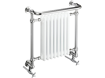 Clifton Wall Hung Heated Towel Rail Chrome