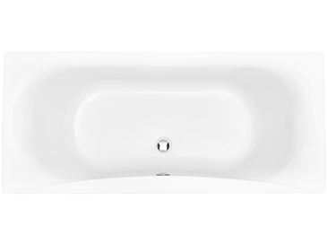 Claverton 1700 x 750 Double Ended Bath No taphole Solid Skin