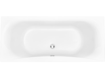 Claverton 1800 x 800 Double Ended Bath No taphole Solid Skin